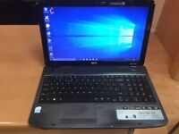 Fast 4GB Acer HD 320GB window10, Microsoft office, ready to use, mint condition