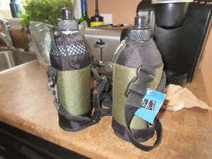 2 Insulated Water Bottles