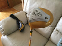 Driver de golf gaucher