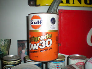 Looking To buy Old Oil Cans and Bottles
