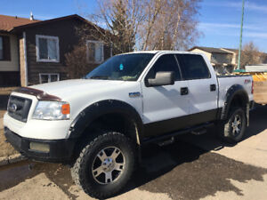 Lifted 2004 Ford F-150 FX4 Pickup Truck