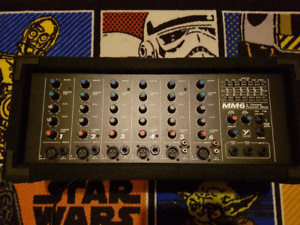Yorkville MM6 6 Channel Powered Mixer
