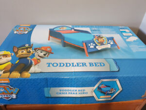 Paw patrol toddler bed. Brand new