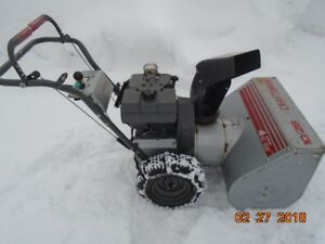 EXTREMELY -HEAVY DUTY- CRAFTSMAN SNOWBLOWER