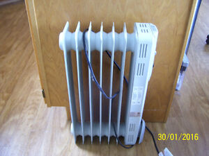 Electrical oil filled heater