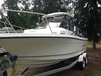 2002 Trophy Pro 2052 with 4.3 and Yamaha 9.9 Kicker