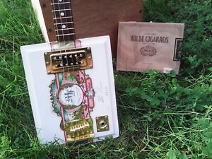 4 string cigar box guitar