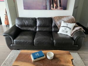 Leather Couches - great condition!