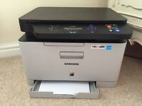 Samsung CLX-3305W Printer.