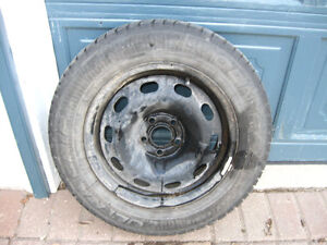 winter tire set - fit Cavalier, VW Jetta, VW Golf, neon, etc.