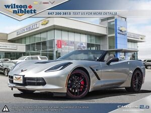 2016 Chevrolet Corvette Stingray Z51 Convertible - Brand New!!
