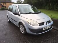 Renault Megane scenic 1.6 July 2017 mot looks and drives faultless