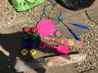 Outdoor games bundle beach camping garden ect £5