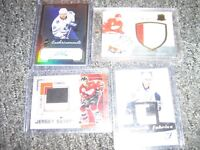 Star Jersey And auto Hockey Cards