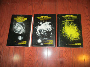 3 Burnham's Celestial Handbooks--Volume 1--2 & 3--New Condition