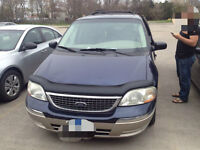 2002 Ford Windstar SEL Luxury Minivan, Van