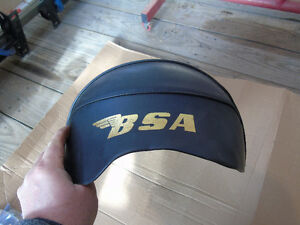 Used BSA A65 A50 Seat with installed New Cover.