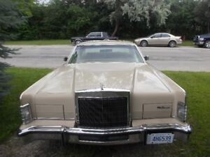 1979 Lincoln Continental-A1 Codition Must See