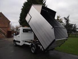 2015 15 MERCEDES SPRINTER 313 CDi HIGH SIDE TREE SURGEON ARBORIST ARB TIPPER