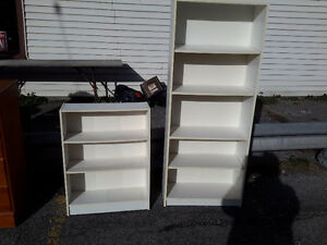 LOT OF 2 BOOK SHELVES  $45.00 FOR BOTH EXCELLENT CONDITION