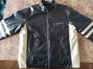 Manteau simili cuir grandeur M
