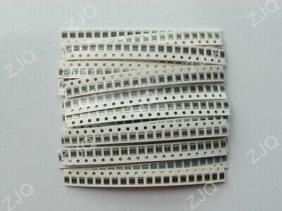 660330pcs 1210 2512 Smd Resistor Kit 1ohm-1m Ohm 5 33 Values Assorted Kit