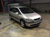 Zafira 2004 part service history Not end of September 7 seats