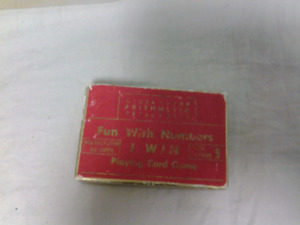 Really old math card game
