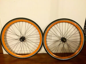 SE bikes wheelset + Continental Sport Contact 32c