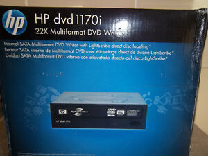 HP DVD 1170i - 22X Multiformat DVD Writer - NEW
