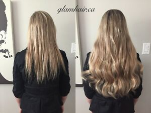 Glam Hair Extensions - Tape, Microlink/Nanolink www.glamhair.ca London Ontario image 4