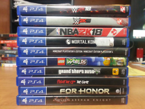 Selling ps4 games CHEAP