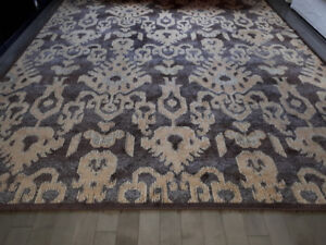 Moroccan style yet Contemporary large area rug