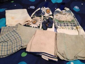 Dish cloths and towels
