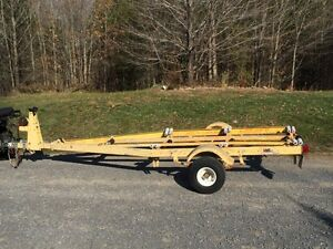 "Heavy duty galvanized 14"" boat trailer Kingston Kingston Area image 1"