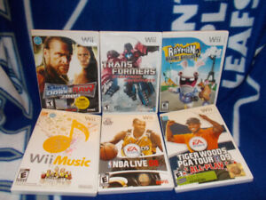 Wii Games for sale. $10 each.Wii Games. Tiger Woods. Smack Down