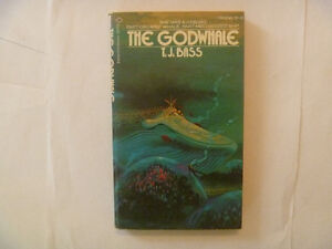 THE GODWHALE by T.J. Bass - 1974 Paperback