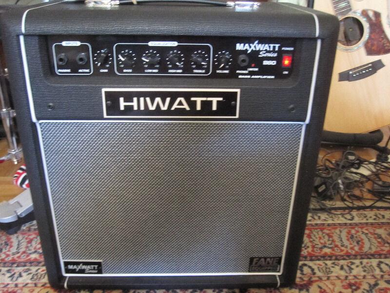 Belcat Amps Bass Hiwatt B60 Bass Amp Hiwatt