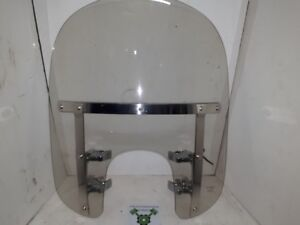 """Sportster Windshield - 39mm clamps - Light smoked - 23"""" -ID 1707"""
