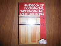 Handbook of Doormaking Windowmaking & Staircasing by A Talbott
