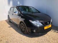 2009 09 SEAT IBIZA 1.4 BLACK SPORT 5D 85 BHP