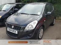 SUZUKI SPLASH SZ3 2014 Petrol Manual in Black