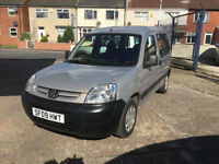 Peugeot Partner 1.4 wheelchair access vehicle, electric winch,HPI CLEAR
