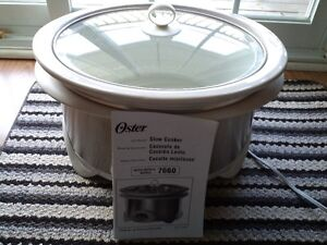 SLOW COOKER OSTER (NEW) $20.00