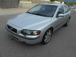 2004 Volvo S60  Auto AWD 2.5L Turbo 184000KMS