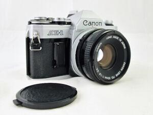 CANON AE1 avec 50mm SC vérifié et testé, en très bonne condition