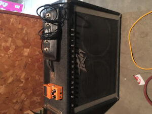Peavy amp and foot pedals