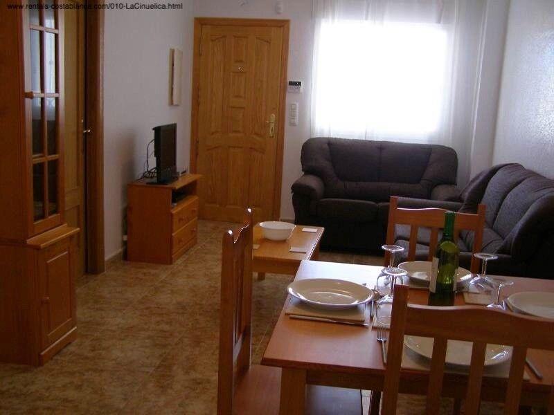 Costa Blanca, Spain. Ground floor apt, sleeps 4 available 6-31 October £215pw