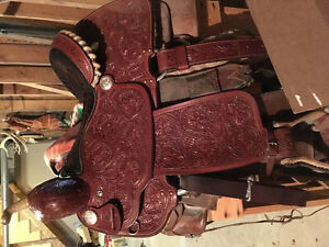 "15"" brand new Billy cook barrel saddle"