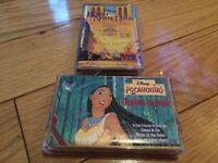 Disney pocahontas et le bossu de notre dame cassette ost tape